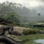 The giant snake from a lost world