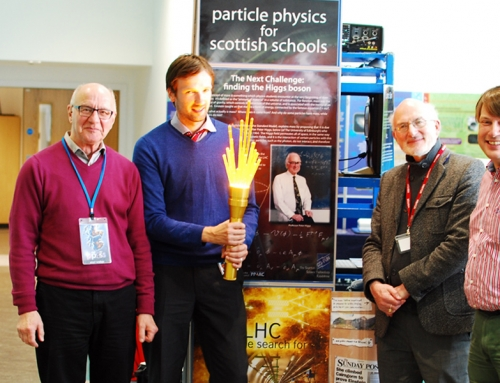 Particle Physics for Scottish Schools