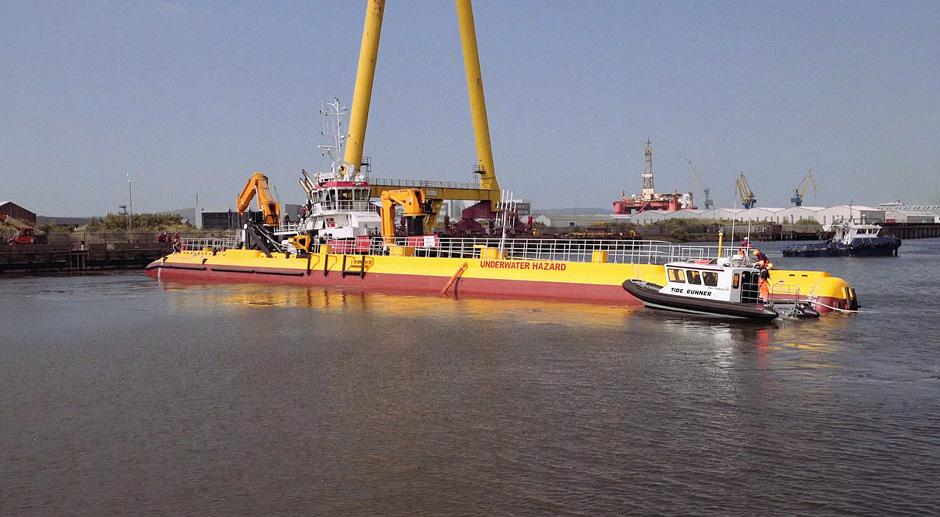 Scotrenewables' new tidal turbine