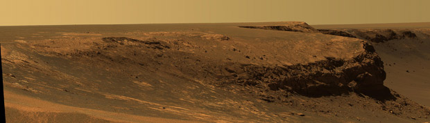 The red lands of Mars [Photo: NASA]
