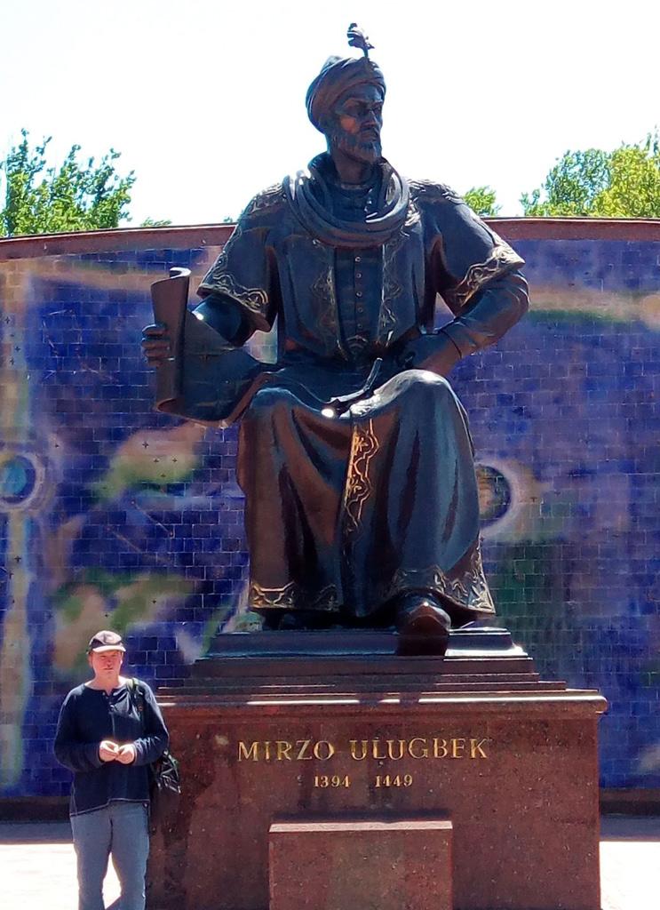 Statue of Ulugh Beg