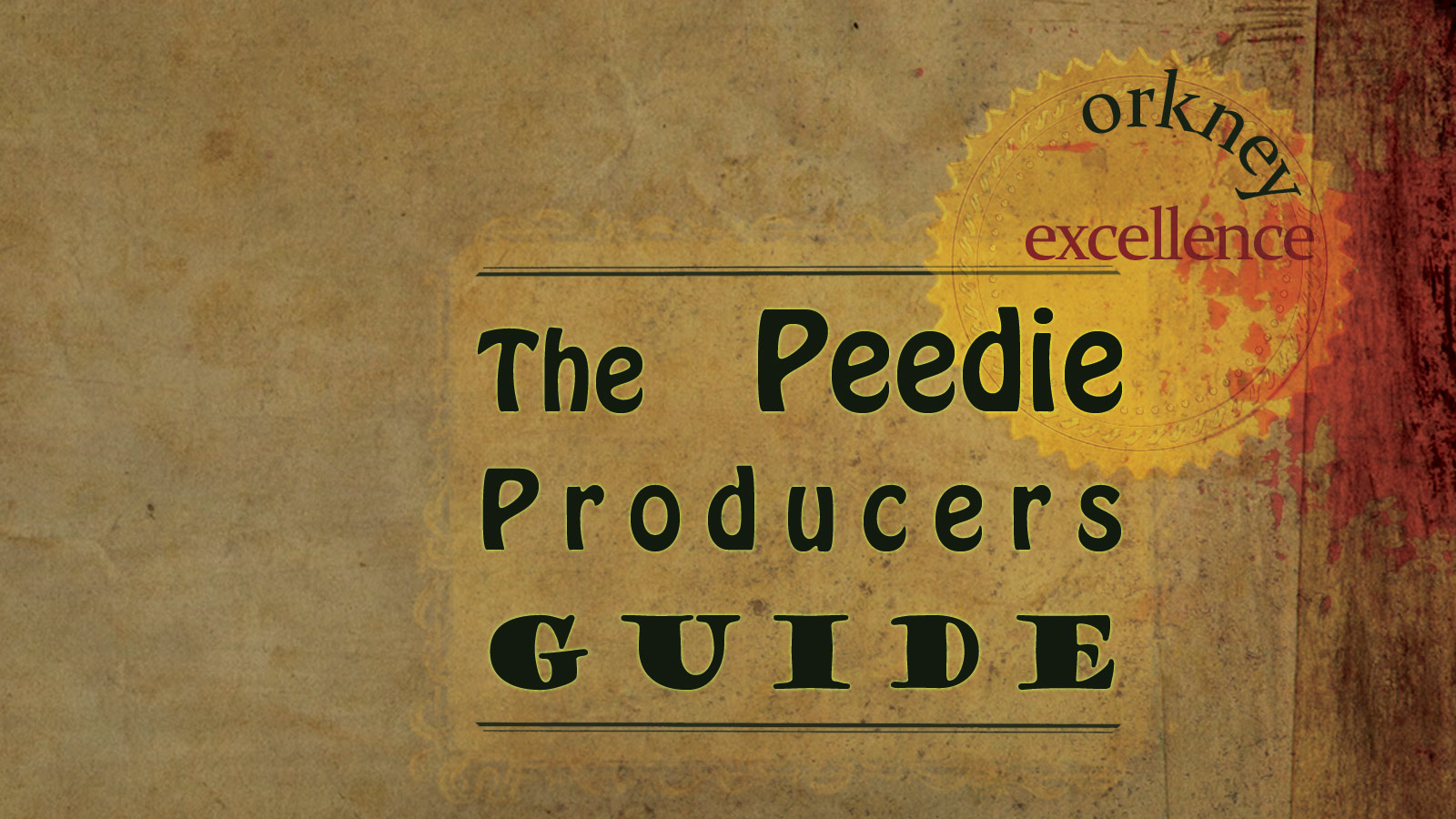 Peedie Producers Guide