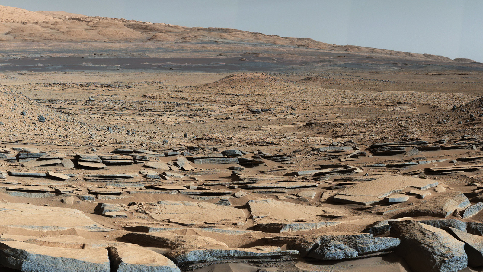 Part of Gale Crater on Mars [Photo: NASA]