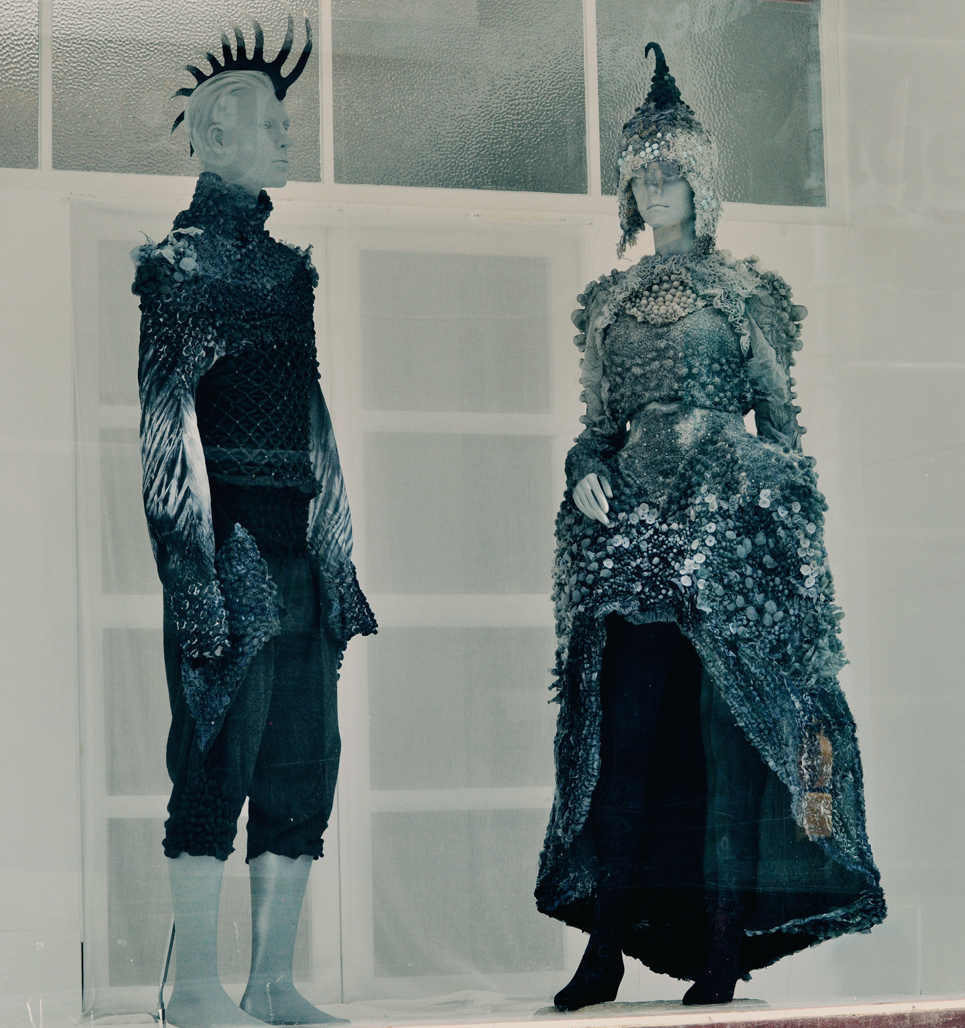 The Selkie's New Clothes window display